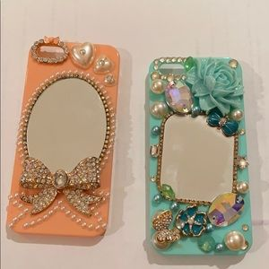 iPhone 5 girly mirror cases